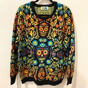Skull sweater for women